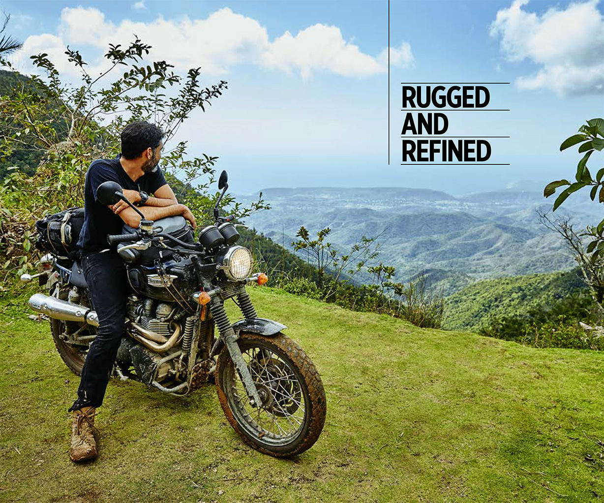 Rugged and Refined